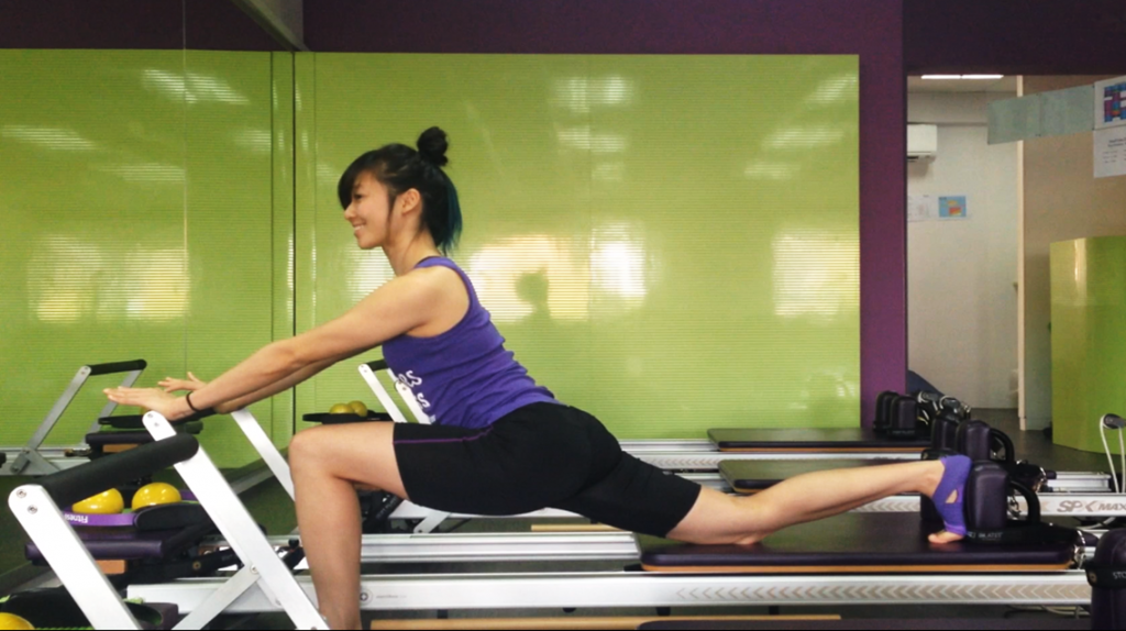 pilates-fitness-posture-single-thigh-stretch