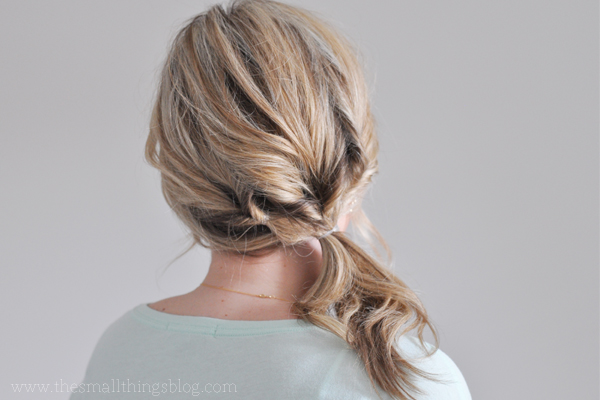 pilates-fitness-triple-ponytail-hairstyle